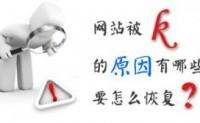 成都SEO:网站被K之后快速恢复技巧
